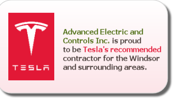 Tesla web promotional graphic