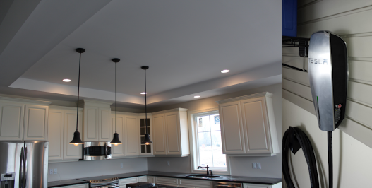renovated kitchen - well lighted